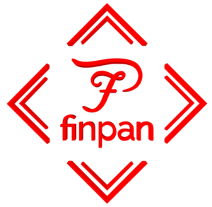 FinPan Logo 3D Render